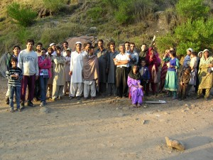 Pakistan Medical Tean with Villagers