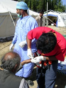 Pakistan Nursing the Injured